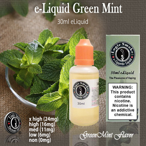 LogicSmoke 30ml Green Mint