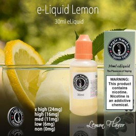 LogicSmoke 30ml Lemon e Liquid