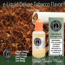 LogicSmoke 30ml Deluxe Tobacco e Liquid