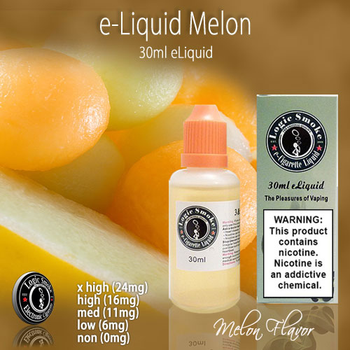 LogicSmoke 30ml Melon e Liquid