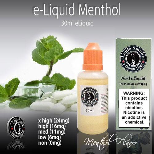 LogicSmoke 30ml Menthol e Liquid