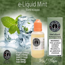 LogicSmoke 30ml Mint e Liquid