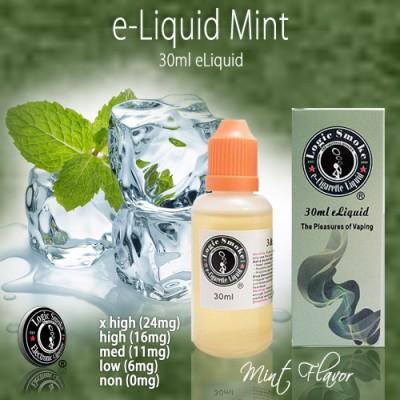 LogicSmoke 30ml Mint e Liquid