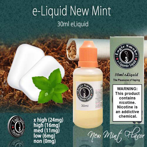 LogicSmoke 30ml NewMint e Liquid
