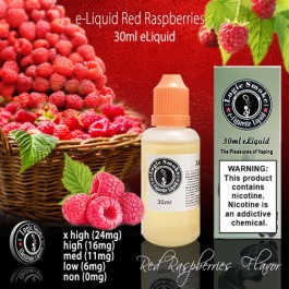 LogicSmoke 30ml Red Raspberry e Liquid
