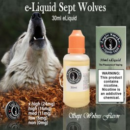 LogicSmoke 30ml Sept Wolves e Liquid