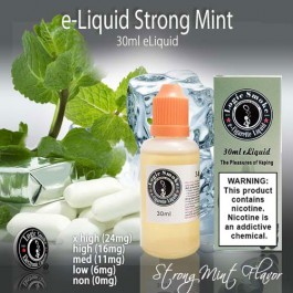 LogicSmoke 30ml Strong Mint e Liquid