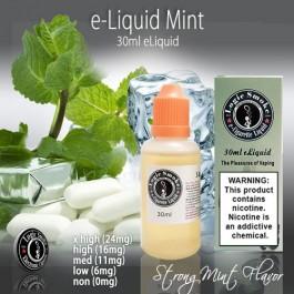 LogicSmoke 30ml Strong Mint e Liquid