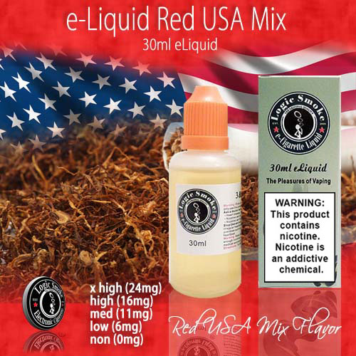 LogicSmoke 30ml Red USA Mix e Liquid