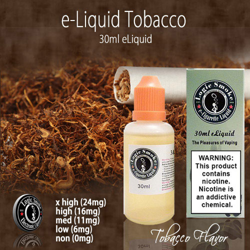 LogicSmoke 30ml Regular Tobacco e Liquid