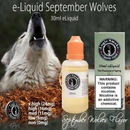 LogicSmoke 30ml Sept Wolves e Liquid