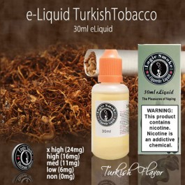 LogicSmoke 30ml Turkish Tobacco e Liquid