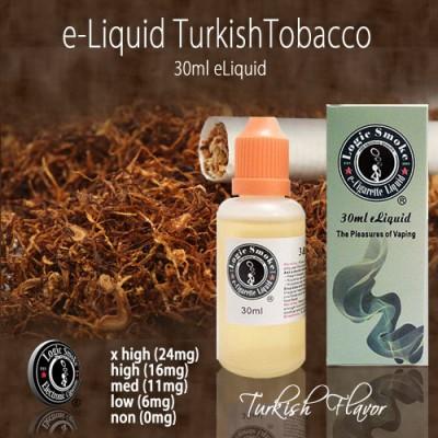 LogicSmoke 30ml Turkish Tobacco e Liquid