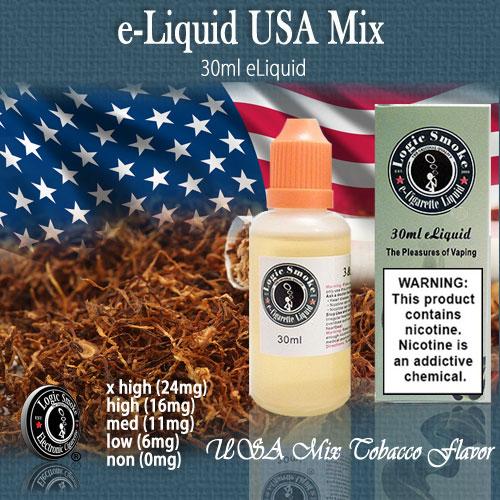 LogicSmoke 30ml USA Mix e Liquid