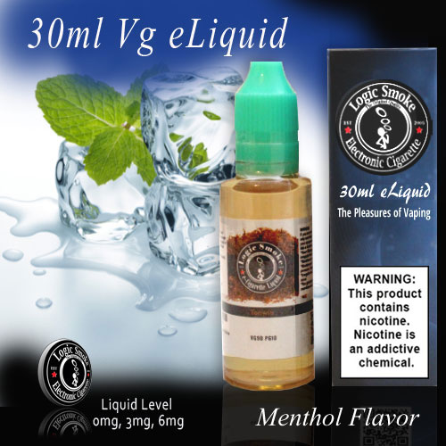 30ml Vg Menthol Flavored e Juice