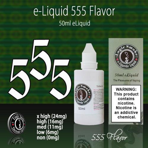 LogicSmoke 50ml 555 e Liquid