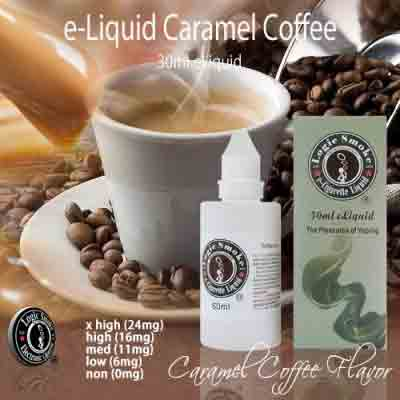 LogicSmoke 50ml Caramel Coffee e Liquid