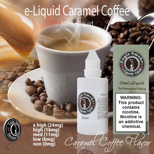 LogicSmoke 50ml Caramel Coffee e Liquid