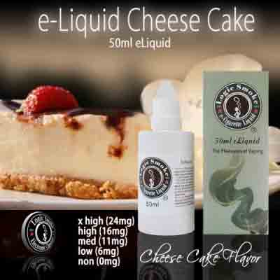 LogicSmoke 50ml Cheesecake e Liquid