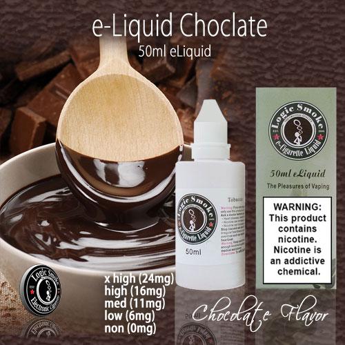 LogicSmoke 50ml Chocolate e Liquid