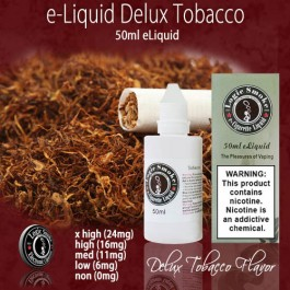 LogicSmoke 50ml Deluxe Tobacco e Liquid
