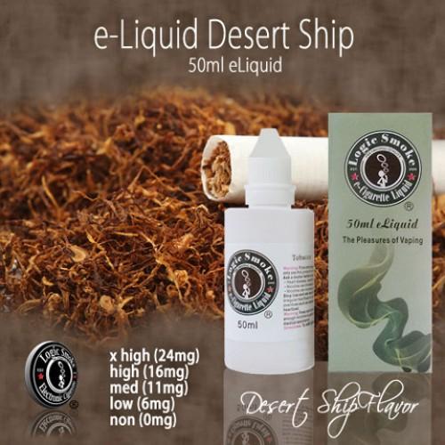 LogicSmoke 50ml Desert Ship e Liquid