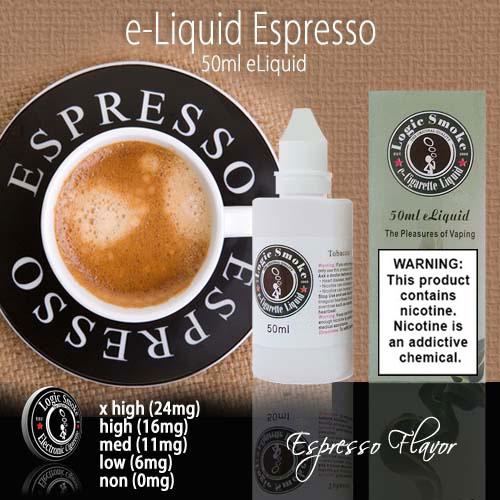 LogicSmoke 50ml Espresso e Liquid