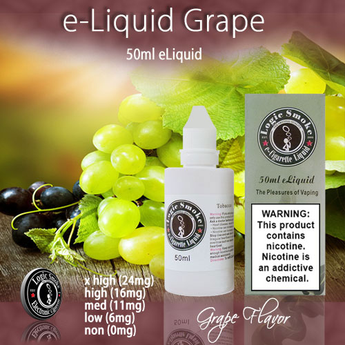 LogicSmoke 50ml Grape e Liquid