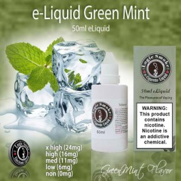 LogicSmoke 50ml Green Mint e Liquid