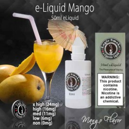 LogicSmoke 50ml e Liquid Mango Flavor