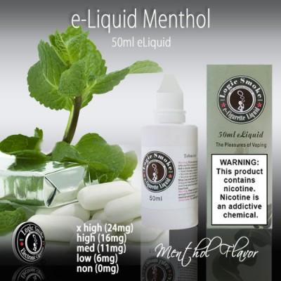 LogicSmoke 50ml Menthol e Liquid