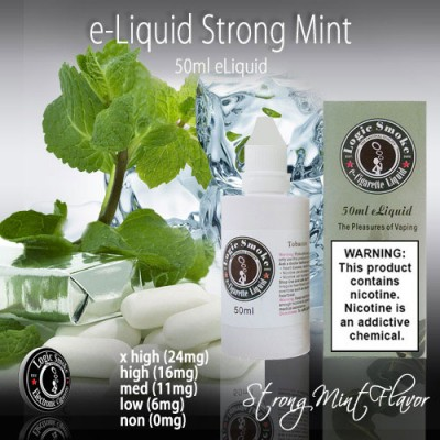 LogicSmoke 50ml Strong Mint e Liquid