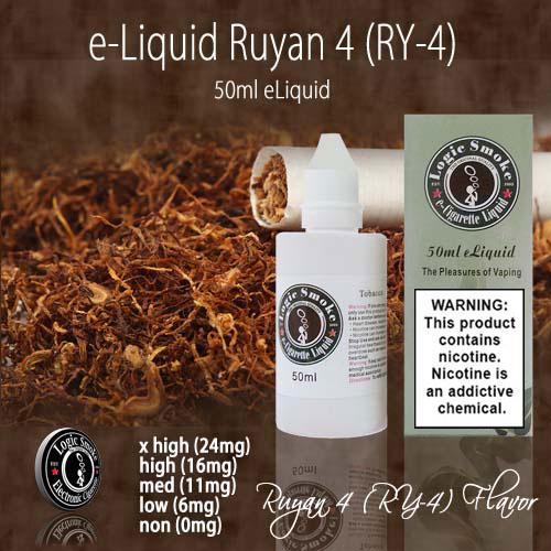 LogicSmoke 50ml Ry4 Ruyan e Liquid