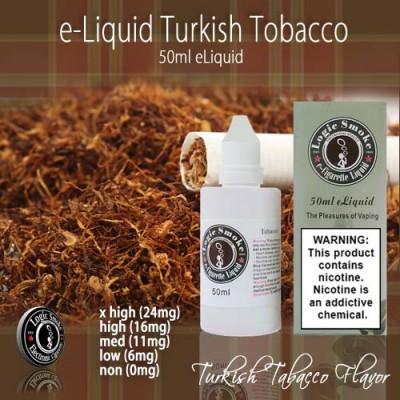 LogicSmoke 50ml Turkish Tobacco e Liquid