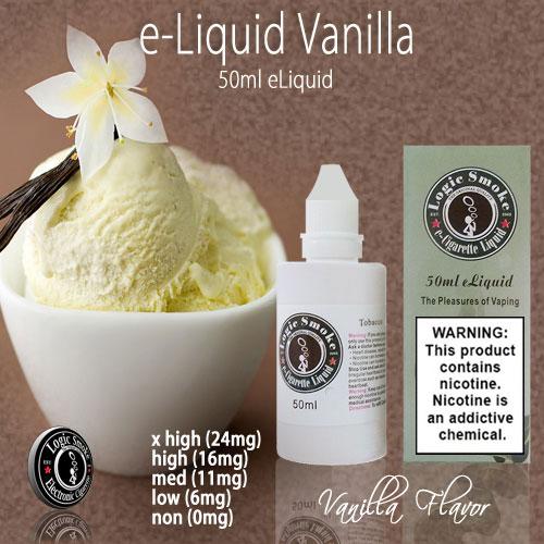 LogicSmoke 50ml Vanilla e Liquid