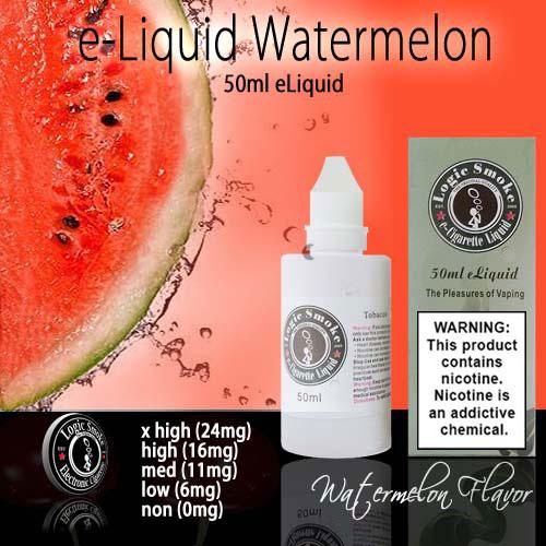 LogicSmoke 50ml Watermelon e Liquid