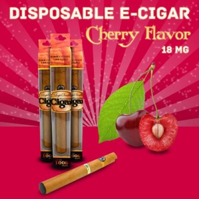 Disposable e Cigar Cherry Flavor