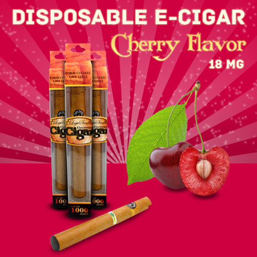 Disposable e Cigar Cherry Flavor