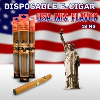 Disposable e Cigar Usa-Mix Flavor