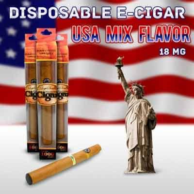 Disposable e Cigar Usa-Mix Flavor
