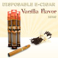 Disposable e Cigar Vanilla Flavor