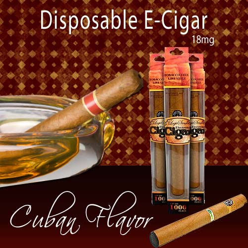 Disposable e Cigar Cuban Cigar Flavor