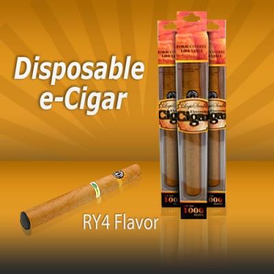 Disposable e Cigar Ry4 Tobacco Flavor