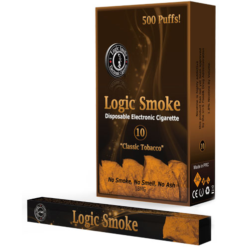 Disposable e Cigarette Regular Tobacco Flavor